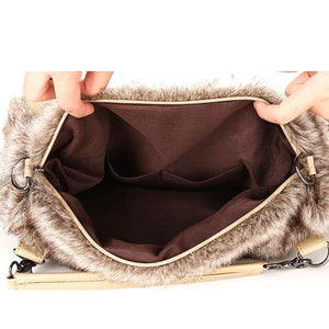 Women's Plush Elegant Shoulder Bag - zonechics
