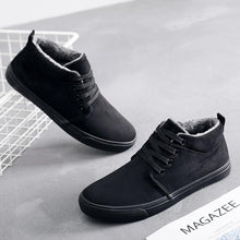 Load image into Gallery viewer, Men's Canvas Casual Shoes Plush Lining Snow Cotton Shoes - zonechics