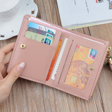 Load image into Gallery viewer, Women Geometric Zipper Card Holder Wallet - zonechics