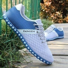 Load image into Gallery viewer, Men's Casual Shoes Breathable Mesh Flat Shoes - zonechics