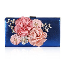 Load image into Gallery viewer, Floral Evening Clutch Bag - zonechics
