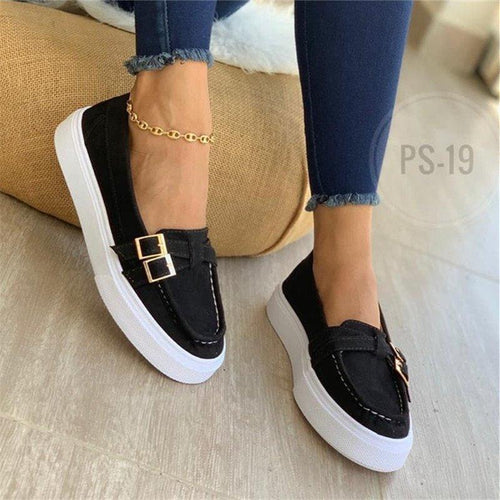 Women Casual Daily Comfy Slip On Sneakers - zonechics