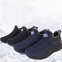 Load image into Gallery viewer, Men's Winter Velvet Warm Non-slip Cotton Shoes - zonechics