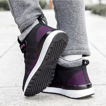 Load image into Gallery viewer, Women Fashion Athletic Soft Mesh Fabrics Lace Round-Toe Warm Winter Casual Shoes - zonechics