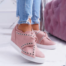 Load image into Gallery viewer, Women Casaul Sport Wedge Sneakers - zonechics