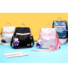 Load image into Gallery viewer, Anti-theft Contrast Color Embossing Backpack - zonechics