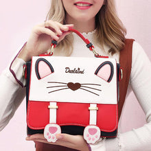 Load image into Gallery viewer, Cat Pattern Fashion Handbag - zonechics