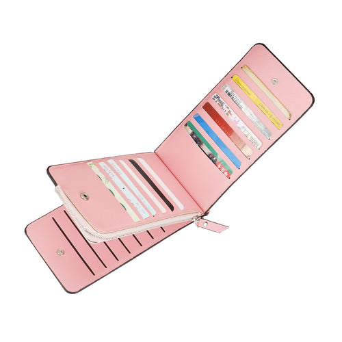 RFID Multi Card Holder Long Wallet - zonechics