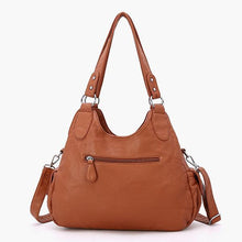 Load image into Gallery viewer, Genuine Leather Vintage Tote - zonechics