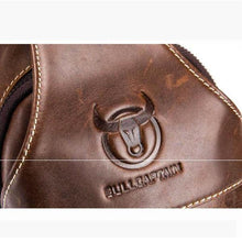 Load image into Gallery viewer, Genuine Leather Vintage Wearing  Resisting Sling Bag - zonechics
