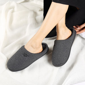 Thicken Warm Non-slip Fashion Couple Cotton Slippers