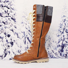 Load image into Gallery viewer, Plus Size Daily Vintage Soft Waterproof Snowboots - zonechics