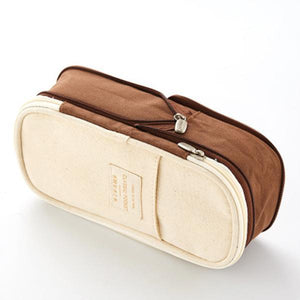 Large Capacity Pen Case Makeup Storage Bag - zonechics