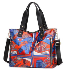 Load image into Gallery viewer, Large Capacity Vintage Printed Tote - zonechics