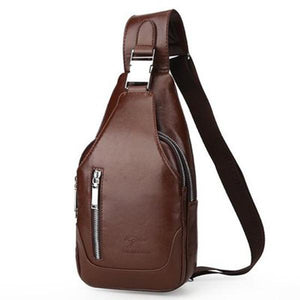 Men's Anti-theft Vintage Sling Bag - zonechics