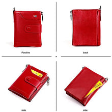 Load image into Gallery viewer, Men's Genuine Leather Retro Wallet - zonechics