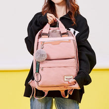 Load image into Gallery viewer, Multi-Pocket Color Block Fashion Patchwork Backpack - zonechics