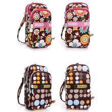 Load image into Gallery viewer, Multi-color Floral Printed Wrist Bag Phone Bag - zonechics