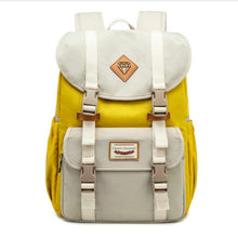 Load image into Gallery viewer, Multicolor Canvas Casual Patchwork Backpack - zonechics