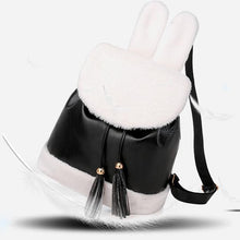 Load image into Gallery viewer, Plush College Style Tassel Drawstring Bucket Bag - zonechics