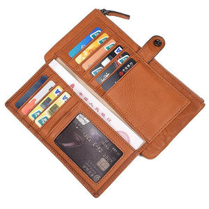 RFID Anti-theft Multi-Slot Wallet - zonechics