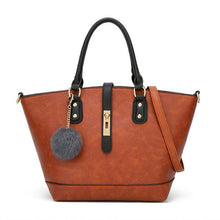 Load image into Gallery viewer, Simply Fashion Contrast Color Tote - zonechics