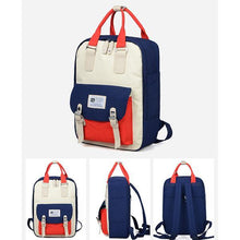 Load image into Gallery viewer, Unisex Contrast Waterproof  Multifunctional Backpack - zonechics