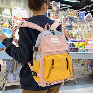 Waterproof College Cute Backpack - zonechics