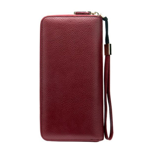 Women's Genuine Leather Vintage Wallet - zonechics