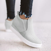 Load image into Gallery viewer, Women Daily Comfy Wedge Heel Sneakers - zonechics
