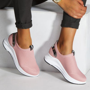 Women Flat Slip-on Comfy Sneakers - zonechics