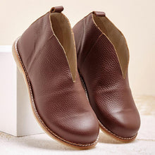 Load image into Gallery viewer, Women's Leather Soft Comfortable Boots - zonechics