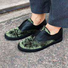 Load image into Gallery viewer, Men's Leather Oxfords Flats Slip ons - zonechics