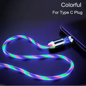 Cable hyper charge lumineux