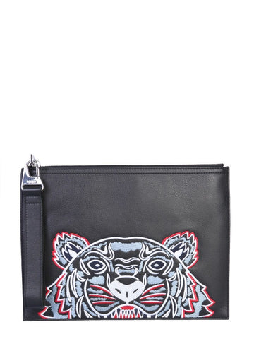 Kenzo Tiger Pouch On FMRU Clothing