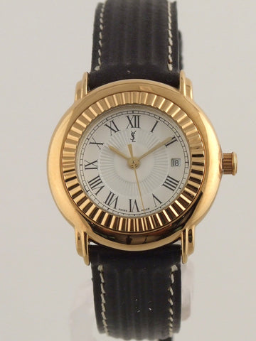 Yves Saint Laurent Gold Plated Watch / Credit: Ebay