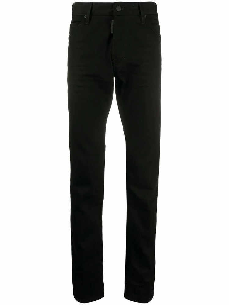 DSQUARED2 MEN'S MID-RISE SLIM FIT JEANS