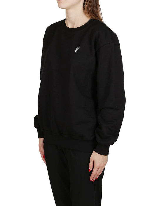 OFF-WHITE WOMEN'S FLOCK ARROWS SWEATSHIRT
