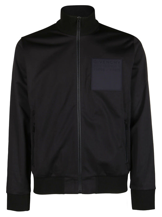 GIVENCHY MEN'S SQUARE PATCH TRACK JACKET