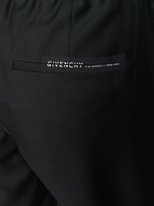 GIVENCHY MEN'S STRAIGHT LEG WOOL PANTS