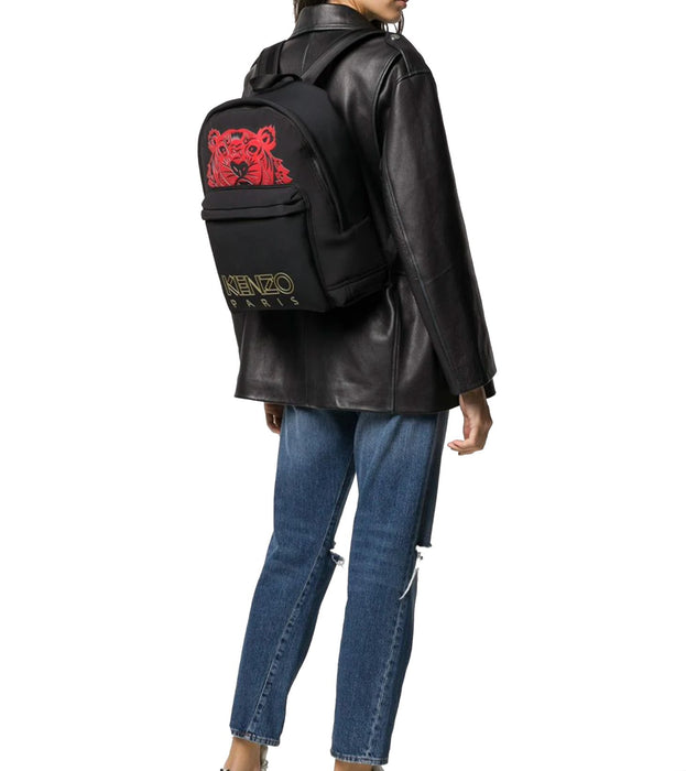 KENZO WOMEN'S RED TIGER BACKPACK