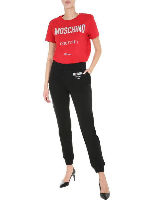 MOSCHINO WOMEN'S SLIM FIT TRACK PANTS