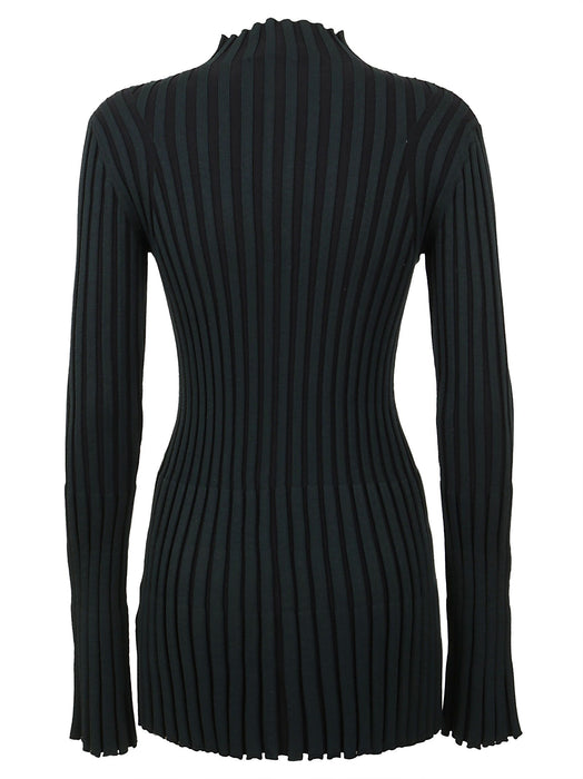 KENZO WOMEN'S STRIPED VISCOSE SWEATER