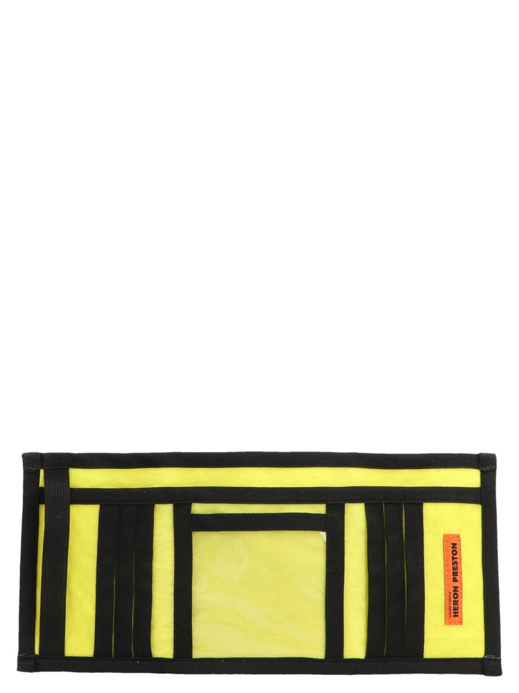 HERON PRESTON MEN'S SYNTHETIC FIBERS WALLET