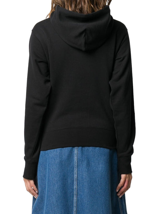 KENZO WOMEN'S TIGER LOGO COTTON HOODY