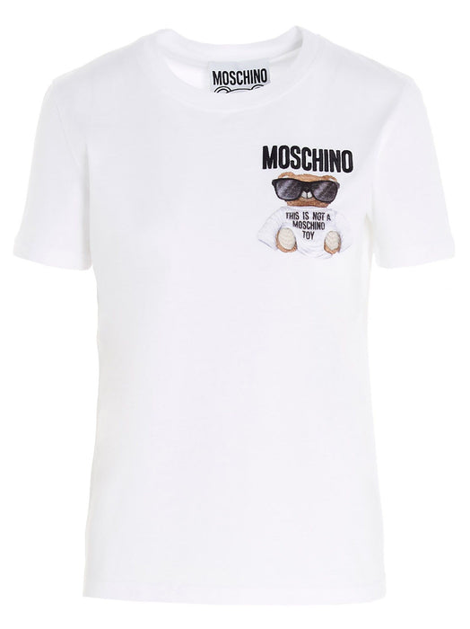 MOSCHINO WOMEN'S THIS IS NOT A MOSCHINO TOY TEE