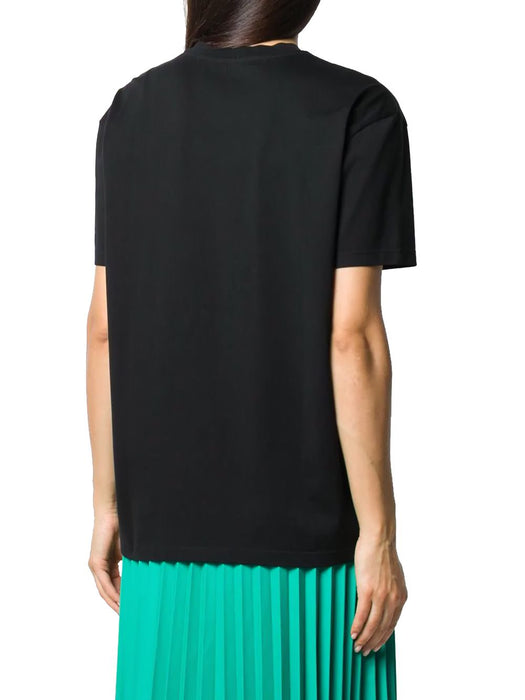 GIVENCHY WOMEN'S ANTIQUE-EFFECT LOGO OVERSIZE T-SHIRT