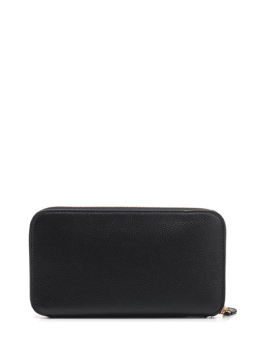 BALENCIAGA WOMEN'S CASH CONTINENTAL LEATHER WALLET