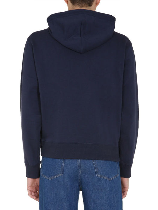 KENZO MEN'S TIGER PATCH HOODY