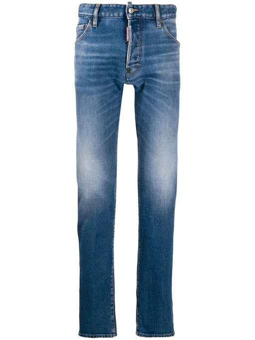 DSQUARED2 MEN'S DISTRESSED JEANS